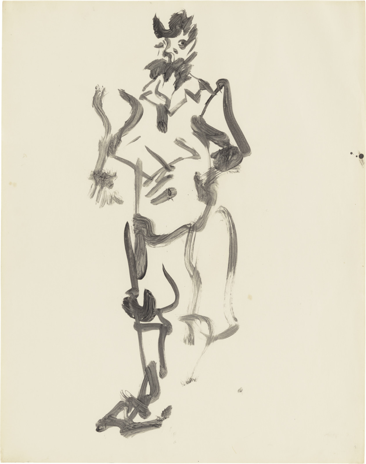 Drawing, dated 1964