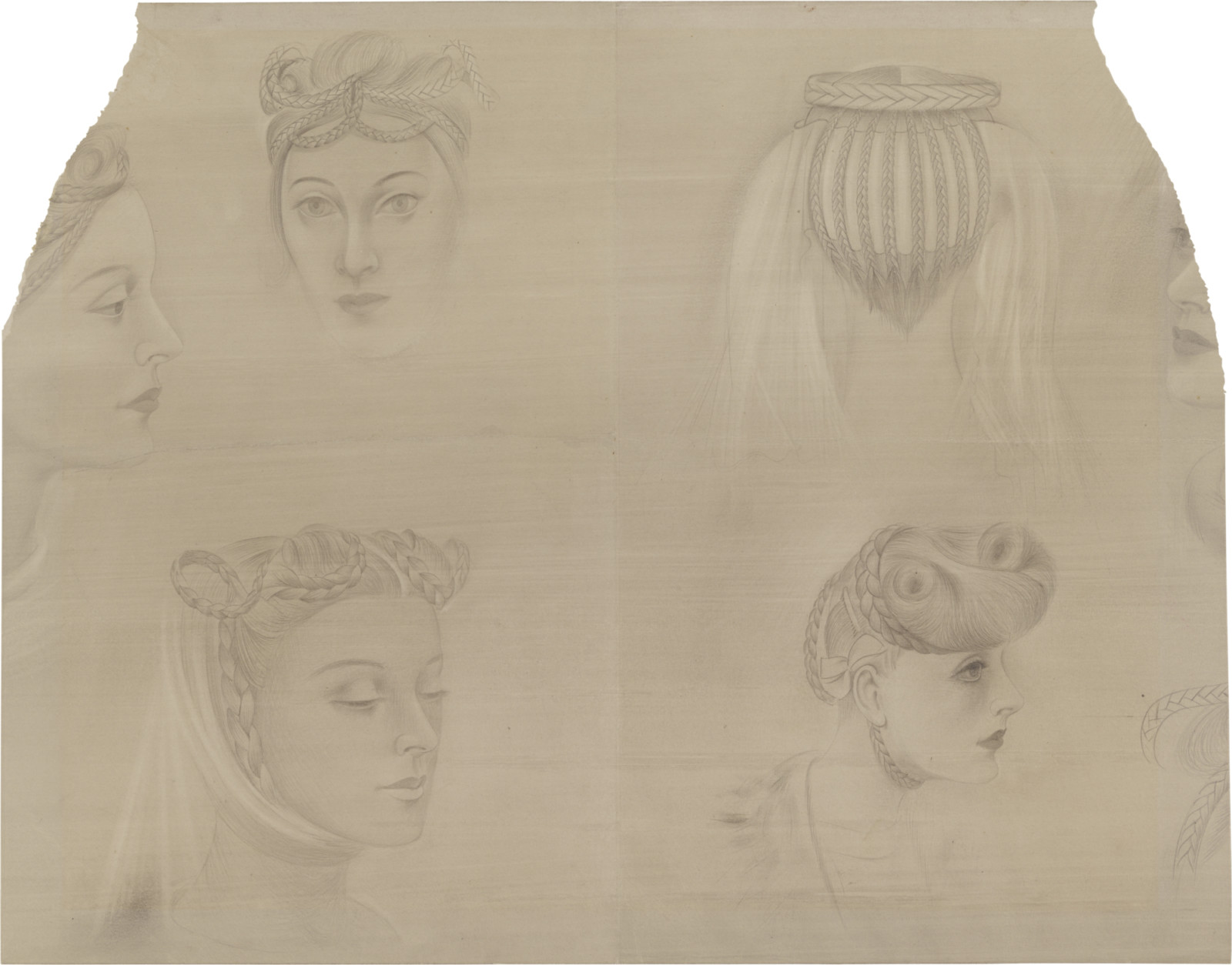 Drawing, dated c. 1942