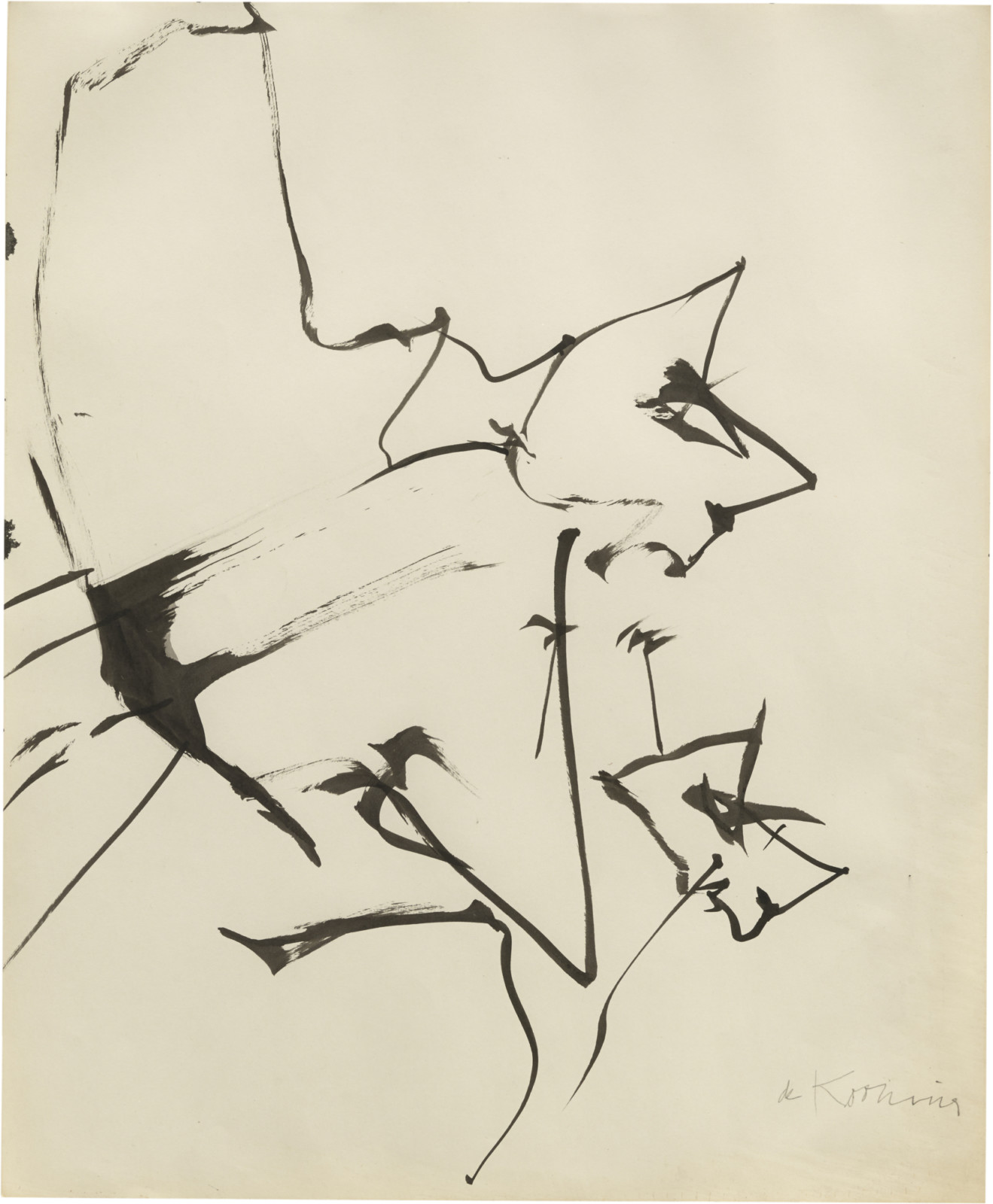 Drawing, dated 1958