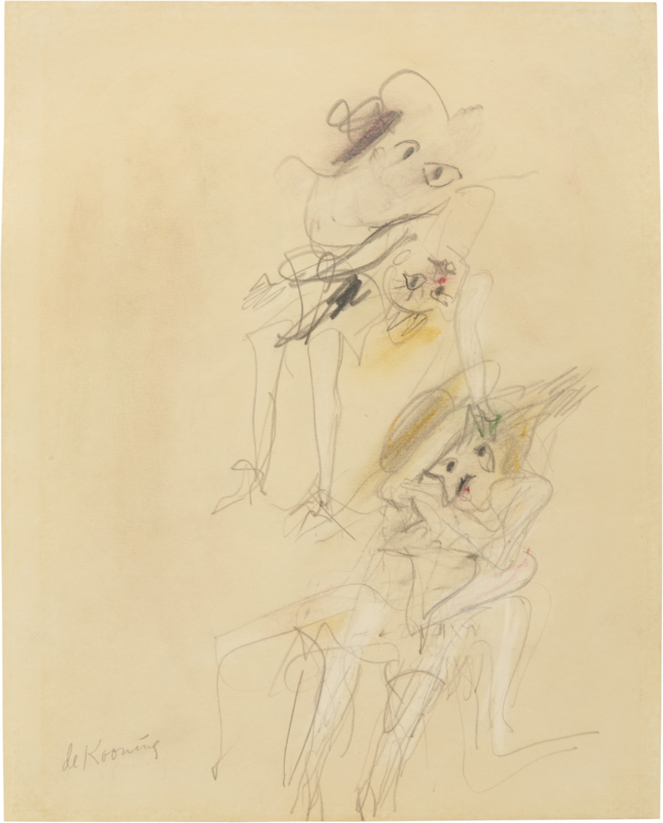 Drawing, dated 1966