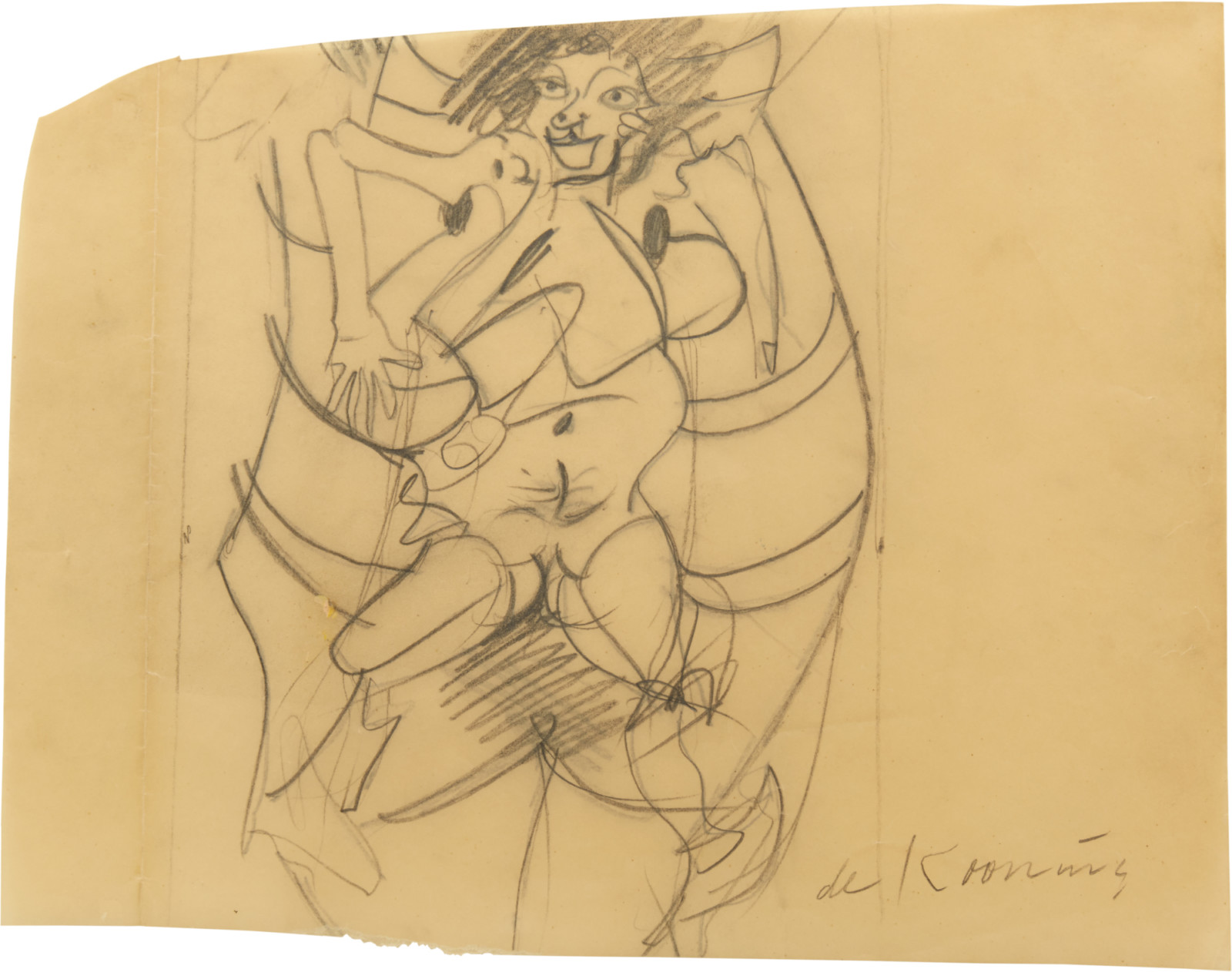 Drawing, dated c. 1964