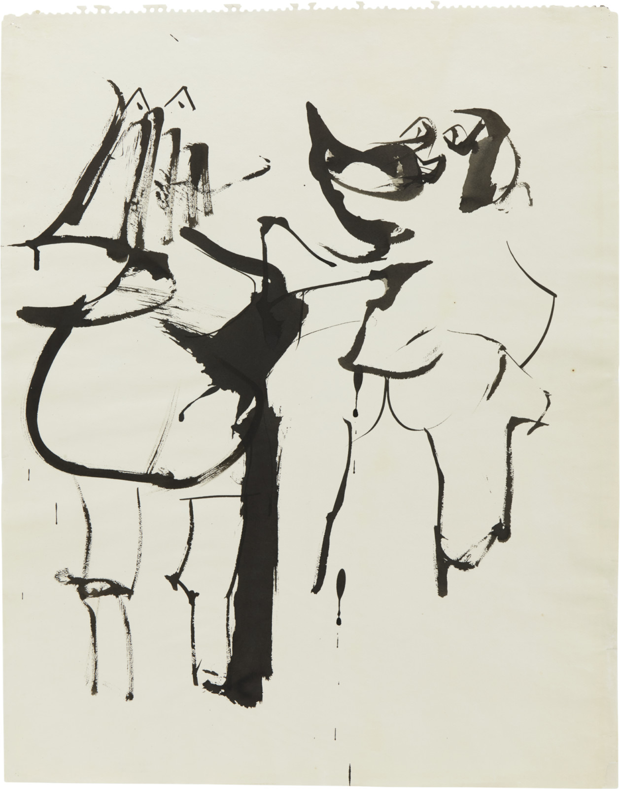 Drawing, dated 1955