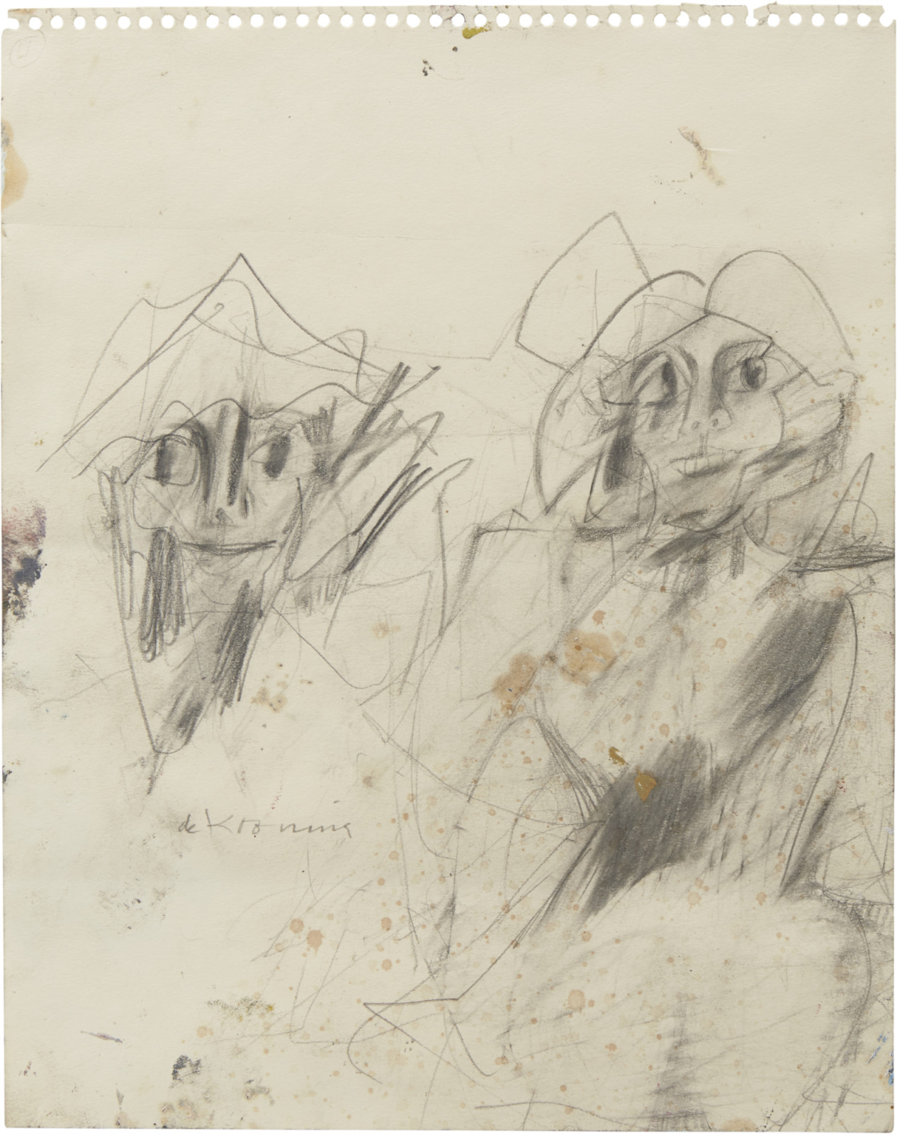 Drawing, dated c. 1950