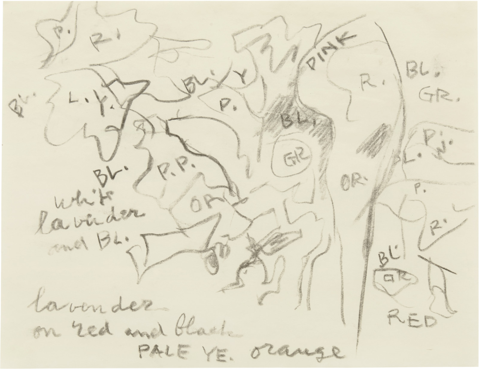 Drawing, dated c. 1975