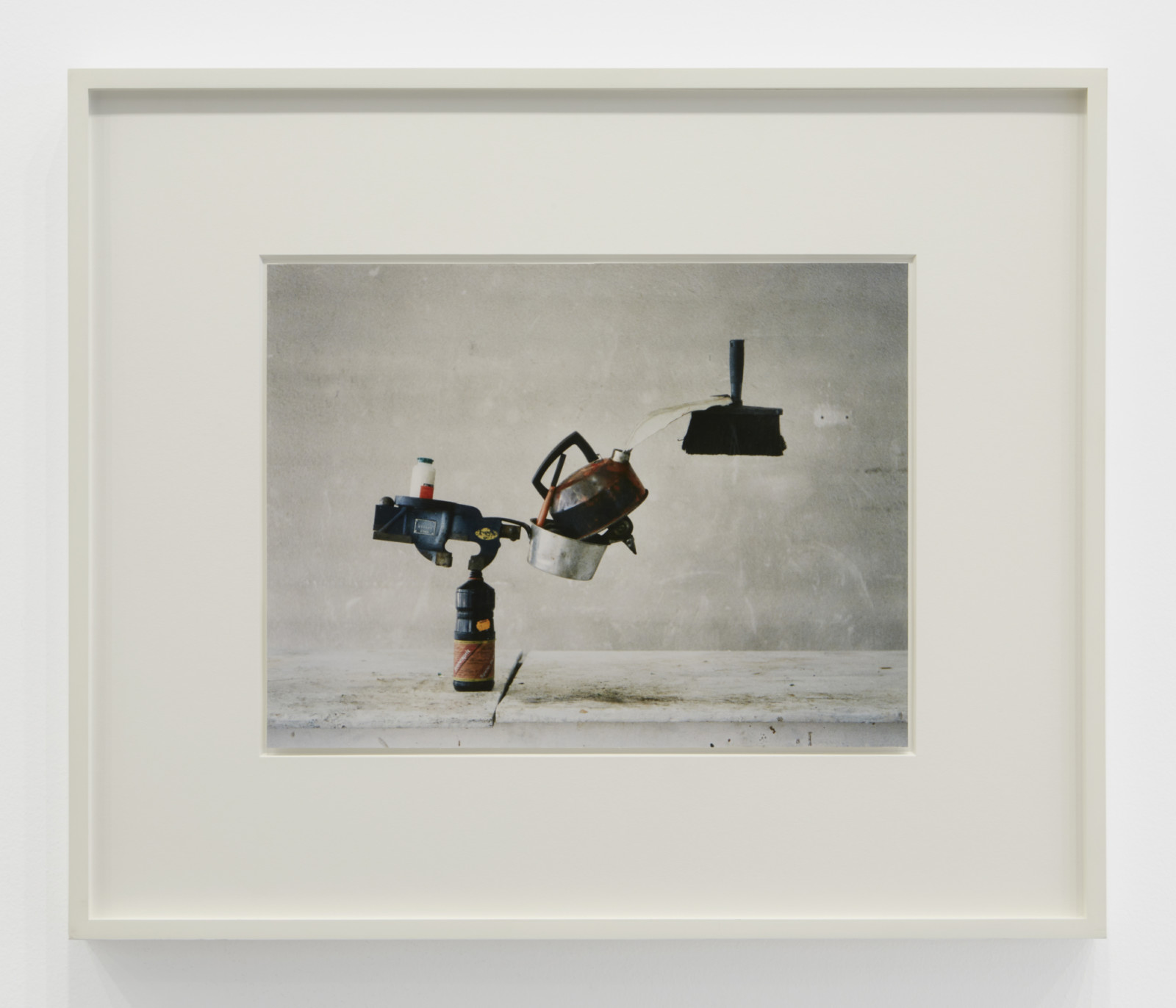 """Photograph by Peter Fischli <span class=""""no_wrap"""">David Weiss</span>, , dated 1986"""