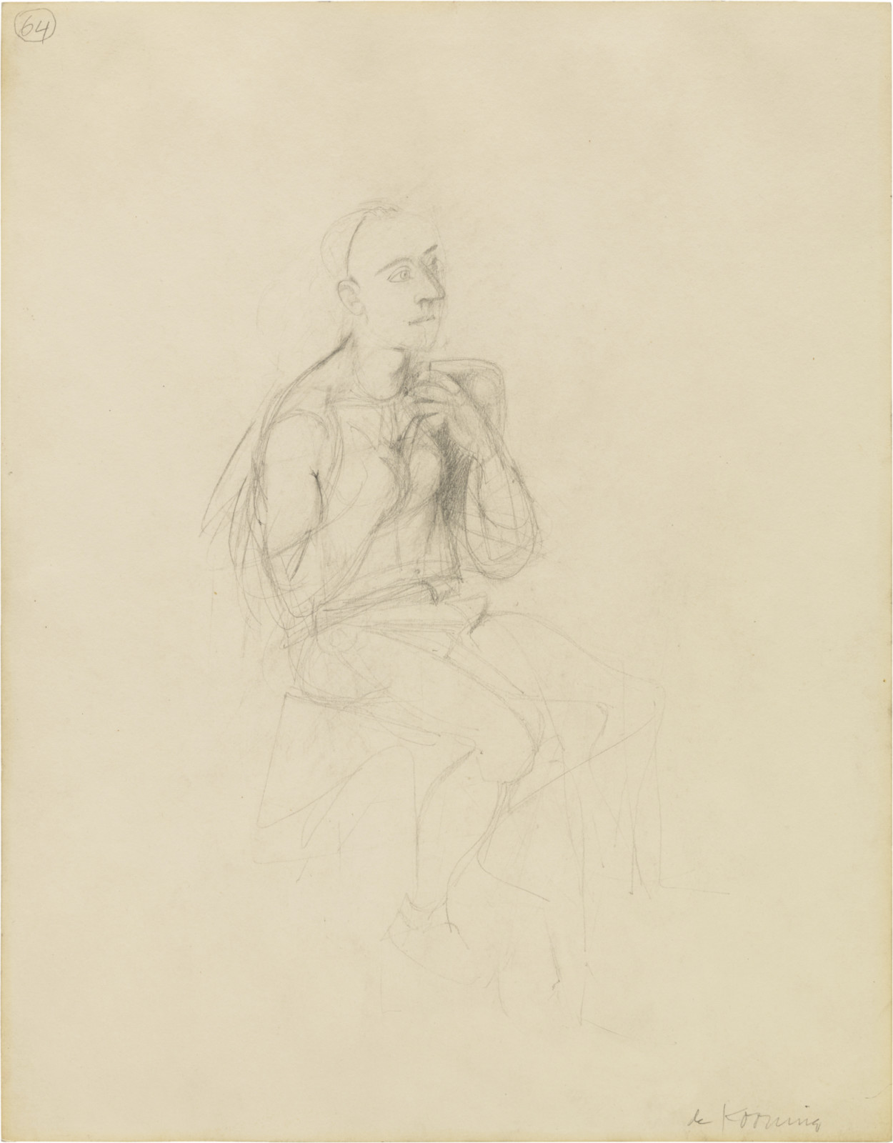 Drawing, dated 1938